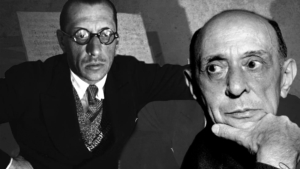 Rivalry in Music: Stravinsky vs Schoenberg